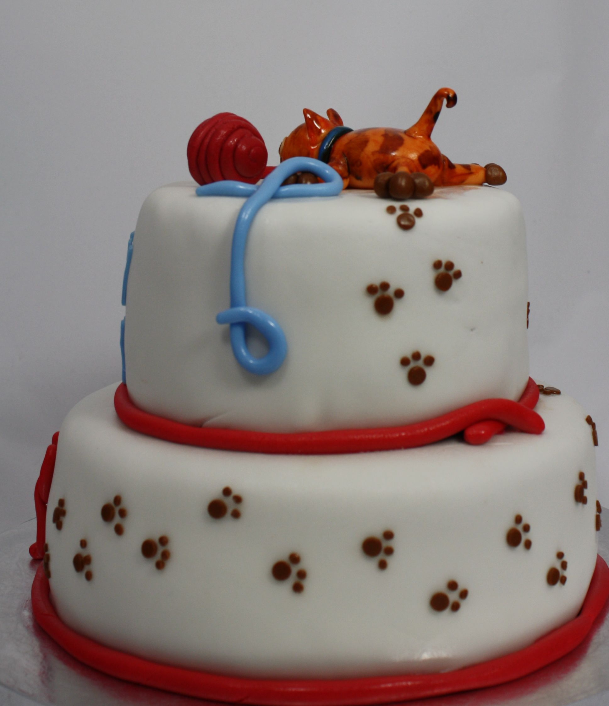 Natalie s creative cakes animal cakes - Cat Sweets By Natalie Kay Birthday Cake With Cats